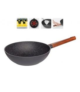 Сковорода-вок с антипригарным покрытием OLDRA, 28 см