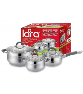 Набор посуды LARA LR02-95 Bell PROMO