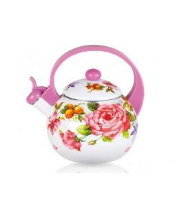Чайник наплитный (эмаль) LARA LR00-20 PINK