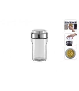 Ёмкость для сыпучих продуктов с мерным стаканом Nadoba PETRA 741011