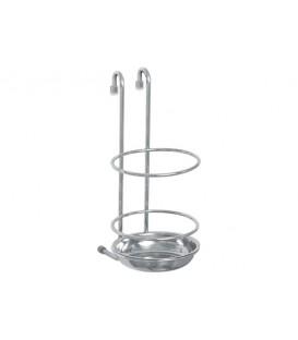 Подставка для кухонных инструментов на рейлинг Nadoba BOZENA 701130