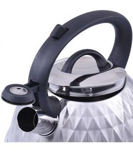 Чайник металлический Mayer&Boch 2,6л со свистком 28210