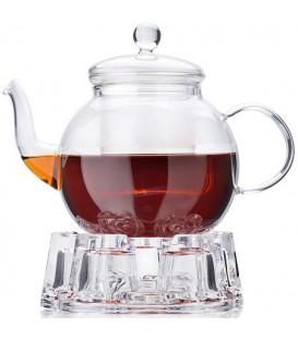 Чайник заварочный с подогревом Mayer&Boch 0,8л стекло 27598