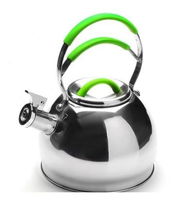 Чайник металлический Mayer&Boch 2,5л со свистком 23207-3