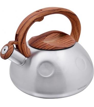 Чайник металлический Mayer&Boch 3л со свистком 28197