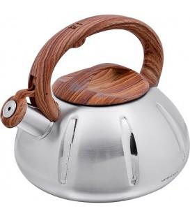 Чайник металлический Mayer&Boch 3л со свистком 28196