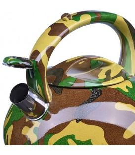 Чайник металлический Mayer&Boch 3л со свистком 28202