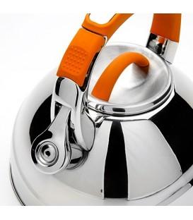 Чайник металлический Mayer&Boch 2,7 л со свистком 23586