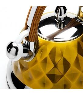 Чайник металлический Mayer&Boch 3,5 л со свистком 24883