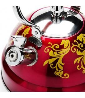 Чайник металлический Mayer&Boch 2,6л со свистком 27545-2
