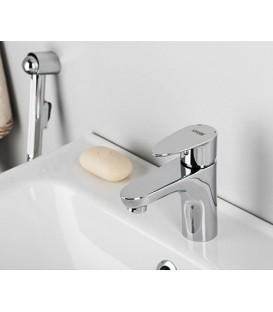 Смеситель для умывальника с гигиенической лейкой WasserKRAFT Leine 3508