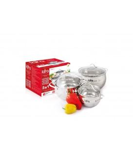 Набор посуды LARA Apple LR02-86 6 предметов