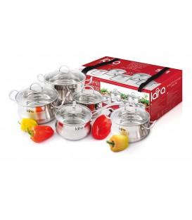 Набор посуды LARA Gracia LR02-85 10 предметов
