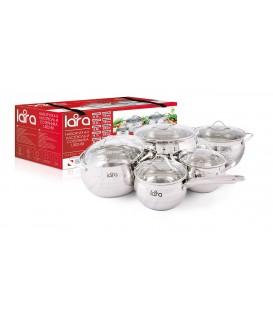 Набор посуды LARA Apple LR02-88 10 предметов