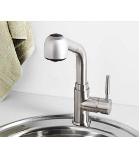 Смеситель для кухни с выдвижной лейкой WasserKRAFT Wern 4266