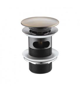 Донный клапан Push-up WasserKRAFT А046 светлая бронза