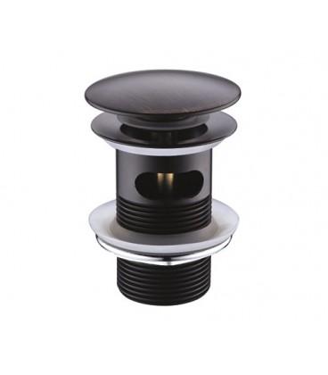 Донный клапан Push-up WasserKRAFT A047 темная бронза