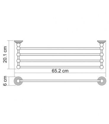 Полка для полотенец WasserKRAFT К-7311