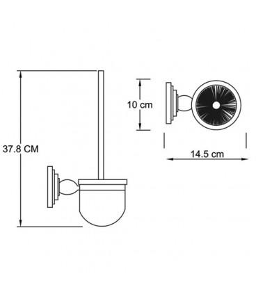Щетка для унитаза подвесная WasserKRAFT К-7327