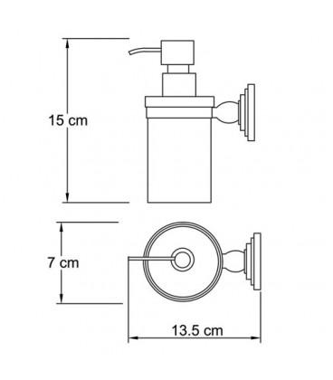 Дозатор для жидкого мыла WasserKRAFT К-7399