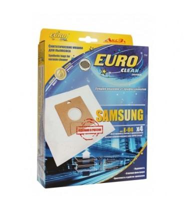Euro clean E-04/4 оригинальные синтетические мешки-пылесборники 4 шт.