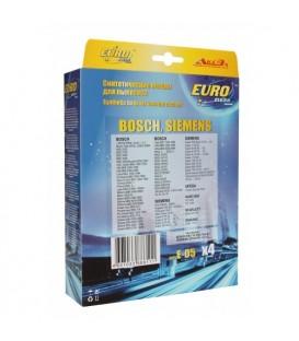 Euro clean E-05/4 оригинальные синтетические мешки-пылесборники