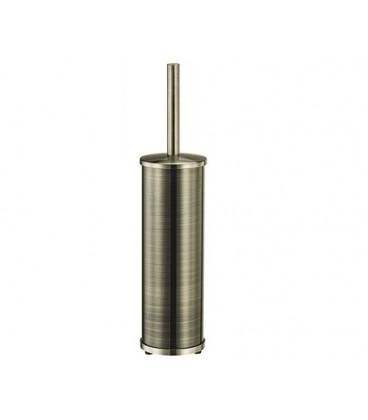 Щетка для унитаза напольная WasserKRAFT светлая бронза K-1017
