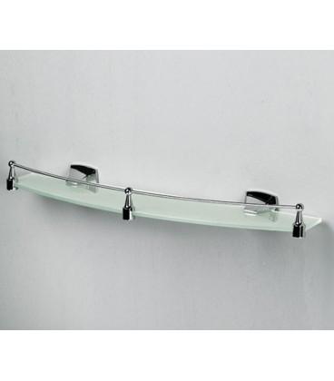 Полка стеклянная WasserKRAFT хром К-2524