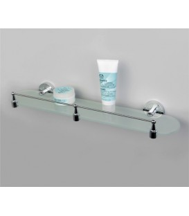 Полка стеклянная WasserKRAFT хром К-4024