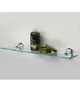 Полка стеклянная WasserKRAFT хром K-3024