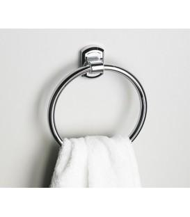 Держатель полотенец кольцо WasserKRAFT хром K-3060