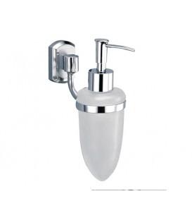 Дозатор для жидкого мыла стеклянный WasserKRAFT хром K-3099