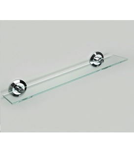 Полка стеклянная WasserKRAFT хром K-6224