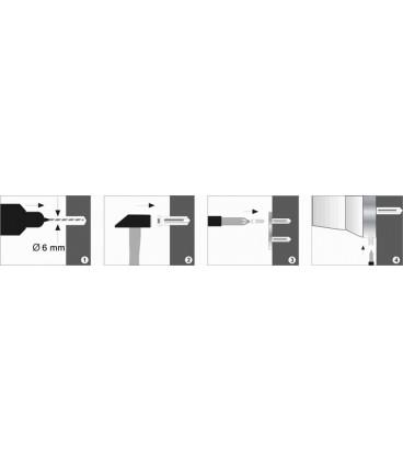 Штанга для полотенец двойная WasserKRAFT хром K-1140