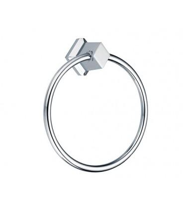 Держатель полотенец кольцо WasserKRAFT хром K-1160