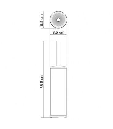 Щетка для унитаза напольная WasserKRAFT K-1027