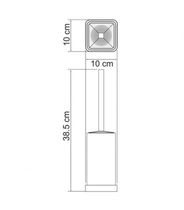 Щетка для унитаза напольная WasserKRAFT K-1037