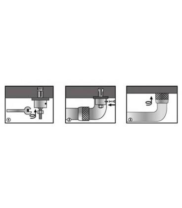Поручень для ванны, 35 см WasserKRAFT K-1066