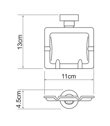 Емкость для мусора WasserKRAFT K-1081