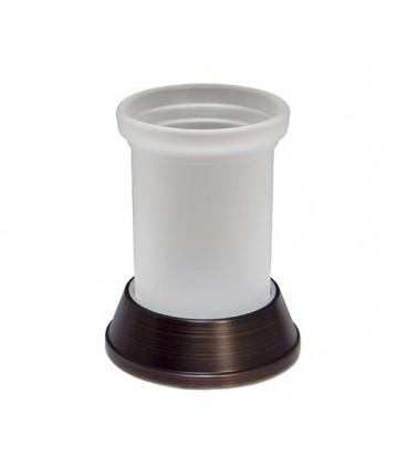 Стакан для зубных щеток WasserKRAFT тёмная бронза K-2328