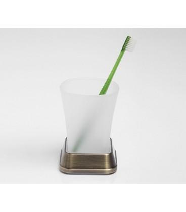 Стакан для зубных щеток светлая бронза WasserKRAFT K-5528