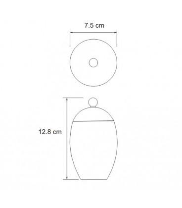 Косметическая емкость WasserKRAFT K-6779