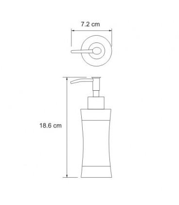 Дозатор для жидкого мыла WasserKRAFT K-7599