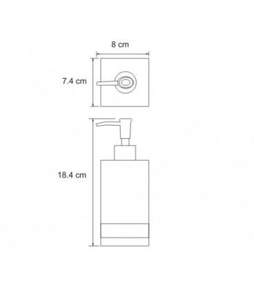 Дозатор для жидкого мыла WasserKRAFT K-4399