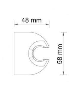 Настенный держатель лейки WasserKRAFT А009