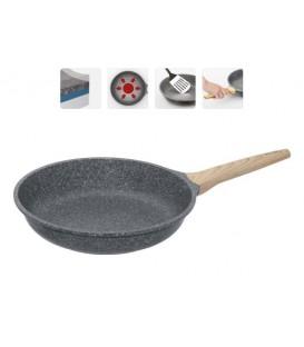 Сковорода с антипригарным покрытием MINERALIKA 24 см + крышка