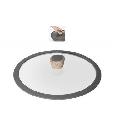 Сковорода с антипригарным покрытием MINERALIKA 20 см + крышка
