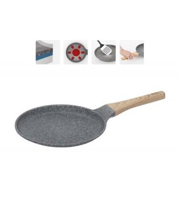 Сковорода блинная с антипригарным покрытием MINERALIKA 24 см + лопатка