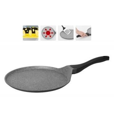 Сковорода блинная с мраморным покрытием GRANIA 28 см + лопатка