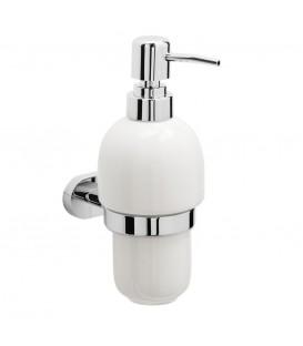 Дозатор для мыла Raiber R50115 стеклянный, настенный